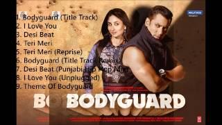 Bodyguard Audio Songs | All songs in One || mymp3album