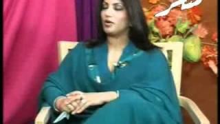 Abbas roy with saira naseem