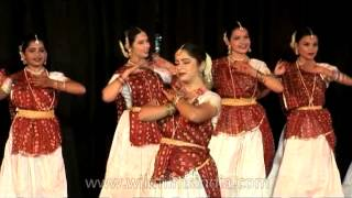 Group Kathak Performance