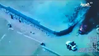 بالفيديو / صور جوية للحظة استهداف صالح الصماد ومقتله ( جودة عالية )