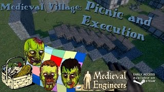 Medieval Engineers - Village part 13