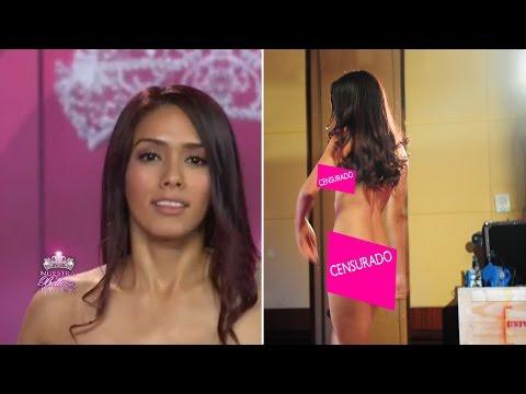 Kate García se desnudó para sorprender a los jueces de Nuestra Belleza Latina