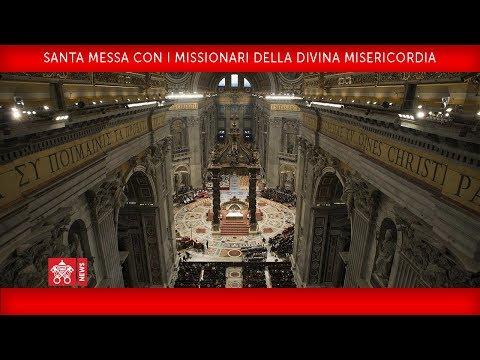 Xxx Mp4 Papa Francesco Santa Messa Con I Missionari Della Divina Misericordia 2018 04 10 3gp Sex