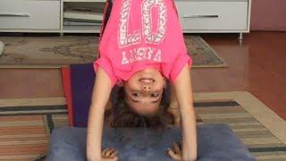 Jimnastik Hareketlerim Evde Jimnastik Hareketleri Ecrin Su Çoban. Gymnastic Challenge
