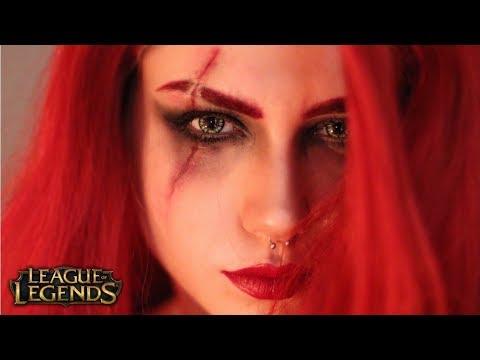 KATARINA İLHAMLI MAKYAJ! | LEAGUE OF LEGENDS
