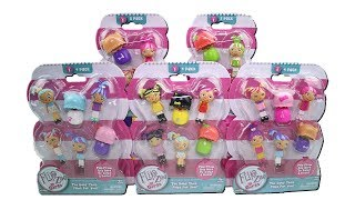Flip Zee Girls Vinyl Figures 2 and 4 Pack Unboxing Toy Review The Baby That Flips for You