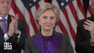 Watch Hillary Clinton