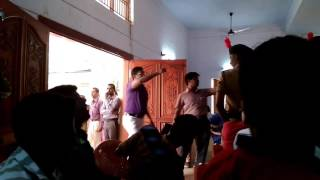 Matthew Hayden in Sourashtra college madurai
