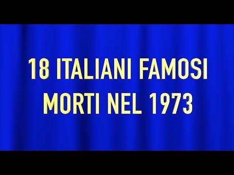 Xxx Mp4 18 ITALIANI FAMOSI MORTI NEL 1973 3gp Sex