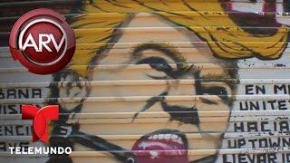 Mural de Donald Trump es sensación turística en Tijuana   Al Rojo Vivo   Telemundo