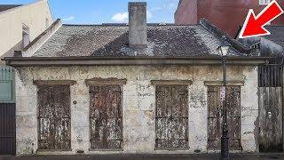 أعتقدوا أنه منزل قديم ومتسخ   ولكن عندما شاهدوه من الداخل صدم البلاد والسكان !!