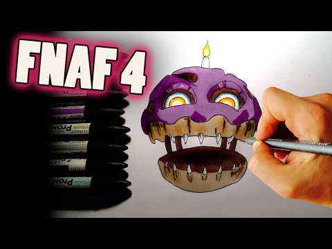 Xxx Mp4 NIGHTMARE CUPCAKE ✎ FNAF 4 ✎ HOW TO DRAW 3gp Sex