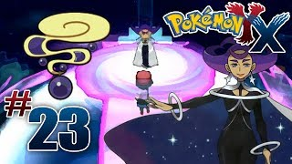 Let's Play Pokemon: X - Part 23 - Anistar Gym Leader Olympia