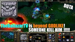 Tiny Dota 1 - Beyond GODLIKE Live Gameplay