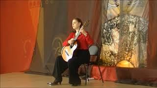 """Vera Danilina: """"Grand Overture""""  by Mauro Giuliani Solo Guitar"""