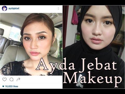 Mekap ala Ayda Jebat | Malaysia Celebrity Makeup | Azewa Amani