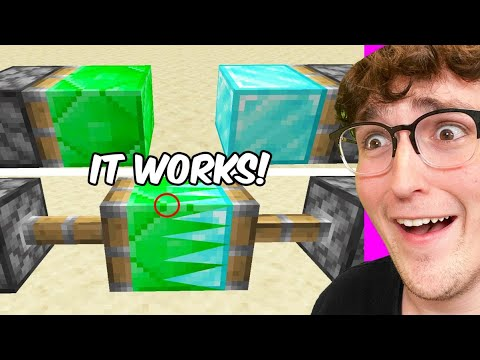 Testing Viral Minecraft Hacks That Are 100 Real