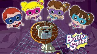 Going On A Lion Hunt   Bottle Squad Stories   Superhero Team   Baa Baa Boom   Kids Cartoon Videos