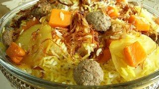 کدوحلوایی پلو Pumpkin Pilaf | Kadoo Halvayi Polo