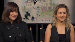 Karen and Charlotte Pence on new children