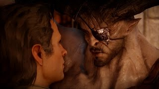 Dragon Age: Inquisition. The Iron Bull Romance