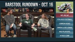Barstool Rundown  - October 16, 2017
