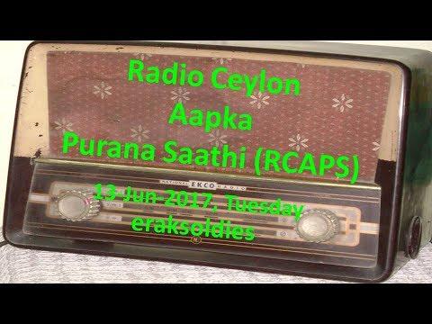Radio Ceylon 13-06-2017~Tuesday Morning~01 Film Sangeet