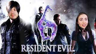 RESIDENT EVIL W/ MY BOYFRIEND!! (RE6, Part 1)
