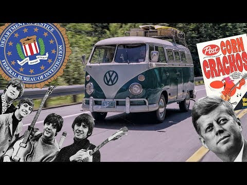 Xxx Mp4 The Beatles The FBI JFK And A 3963 VW Kombi Bus Hagerty Classic Of The Year 3gp Sex