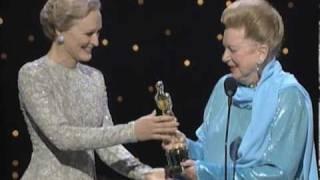 Deborah Kerr receiving an Honorary Oscar®