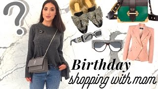 Birthday Shopping In Harrods With Mom | Unexpected Purchase!