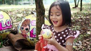 DRAMA Panen LOL Surprise Eggs Lifia Niala Indonesia - Mainan Anak anak Surprise Egg, Pop Toy