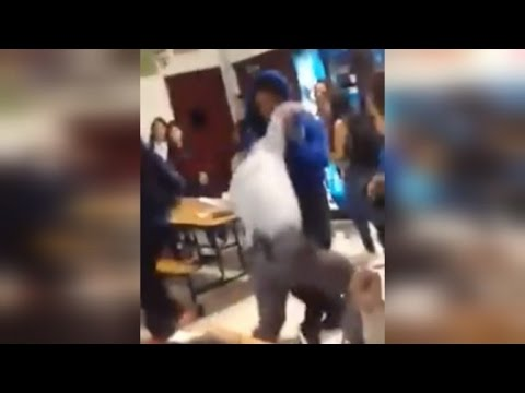 Xxx Mp4 Watch High School Student Body Slam Principal During Cafeteria Fight 3gp Sex