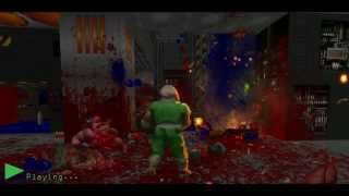Doom - UAC Marines Battle Against The Forces of Hell