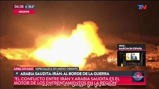 Arabia Saudita-Irán al borde de la guerra