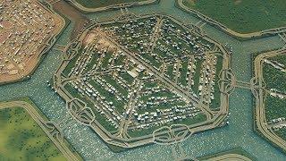 When City Planning In Cities Skylines Requires Hexagon Islands