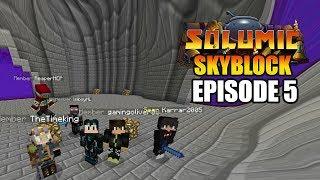 Big CASTLE! Part 1 | Minecraft Skyblock - Solumic Season 1  Episode 5 | GD Venus |