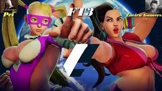 Street Fighter V Mika Vs Laura  FT3