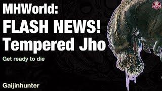 Monster Hunter World: Tempered Deviljho Appears!