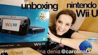 Wii U unboxing Nintendo