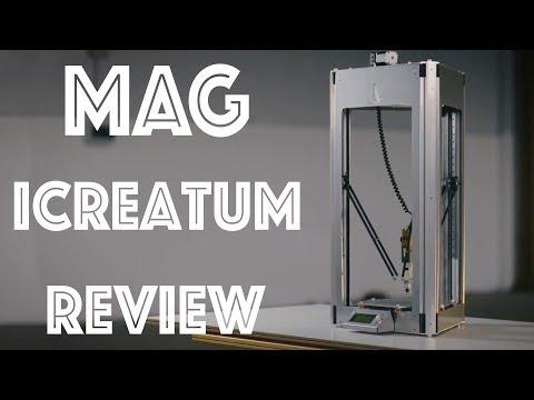 Recensione MAG iCreatum - Una stampante 3D multifunzione a soli 99€