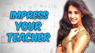 24 TIPS TO IMPRESS TEACHER - HOW TO IMPRESS YOUR TEACHER IN HINDI [ हिंदी ]