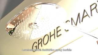 A New Dimension Of Showering From GROHE Rainshower SmartControl