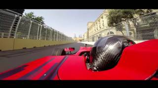 Baku City Circuit - Onboard with Gulhuseyn Abdullayev