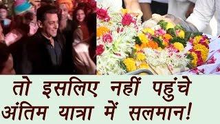 Vinod Khanna: Reason behind Salman Khan