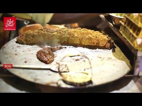 Popular Mumbai Street Food   Famous Anda Bhurji Egg Masala - Ghatkopar West   Indian Street Food