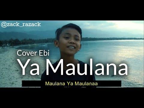 Viral!!! YA MAULANA - Sabyan - Cover By Ebi
