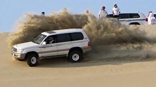 تطعيس في العديد 18/11/2016  - Dune Bashing in Qatar