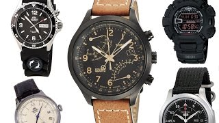 The Best Top 5 Super Affordable Watches Under Or Around $100 - Orient, Seiko, Timex, & G-Shock Casio