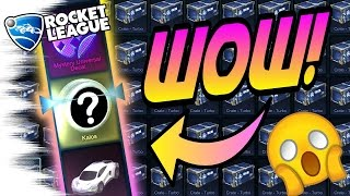 CRATE GLITCH?! - TURBO Rocket League Crate Opening! (Search for 20xx Mystery Decal!)